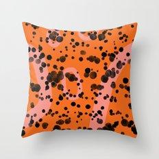 splashcrashsplatter Throw Pillow