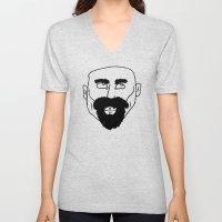 Beard Unisex V-Neck