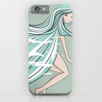 iPhone & iPod Case featuring fly by wit_art