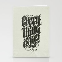 Everything... Stationery Cards