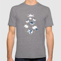 Puzzle Ice  Mens Fitted Tee Tri-Grey SMALL