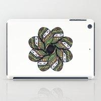 covered woman mandala iPad Case