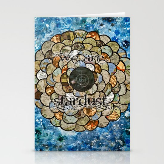 Stardust II Stationery Card