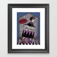 The Red Shoes Framed Art Print
