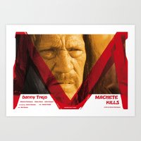 Machete Kills Art Print