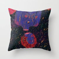 uprainy Throw Pillow