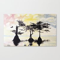 Serine Side of the Swamp Canvas Print
