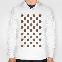 Polka Dots (Coffee/White) Hoody