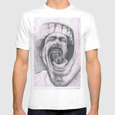 Mouthh Mens Fitted Tee White SMALL