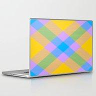 Laptop & iPad Skin featuring Tartan Pattern 8 by Latidra Washington