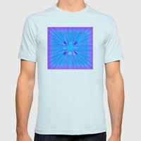 Cracked! Mens Fitted Tee Light Blue SMALL
