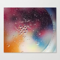 Bubble Power Canvas Print