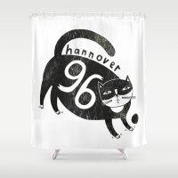96 Katze Shower Curtain