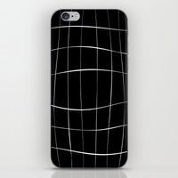 Black Squares iPhone & iPod Skin