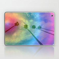 California Rainbow Palm Trees Laptop & iPad Skin
