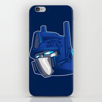 Full Metal Prime iPhone & iPod Skin
