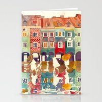 Evening In Poznań Stationery Cards