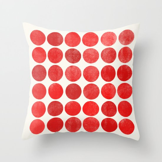 colorplay 12 Throw Pillow