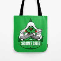 Sesame's Creed Tote Bag