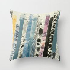 STRIPES 3 Throw Pillow