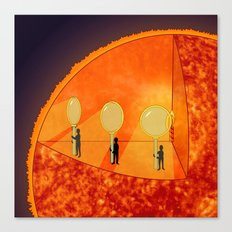 Inner Workings of the Sun Canvas Print