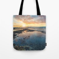 Big Island Sunset Tote Bag