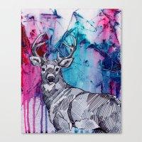 Oh my 'deer' Canvas Print
