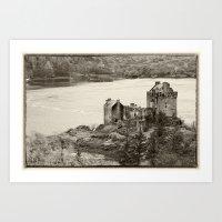 Eilean Donan Castle, Scotland. Art Print