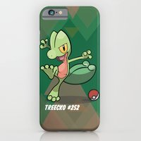iPhone & iPod Case featuring treecko treecko by Johnaddyn