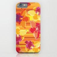 Fluor Flora - Arancio iPhone 6 Slim Case