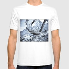 Nature dry. Mens Fitted Tee White SMALL