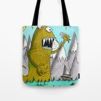 Sea Beast Tote Bag