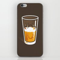 Pessimistic Optimist - alt version iPhone & iPod Skin