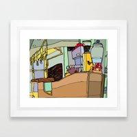Time for Coffee Framed Art Print
