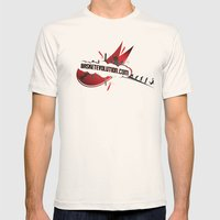 Staz Evolution II Mens Fitted Tee Natural SMALL