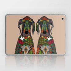 Great Dane Love Beige Laptop & iPad Skin