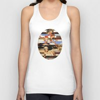 Glitch Pin-Up Redux: Dai… Unisex Tank Top