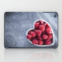 Raspberries For A Health… iPad Case