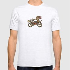 My Harley Mens Fitted Tee Ash Grey SMALL