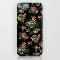 iPhone Cases featuring Classic Jurassic by Josh Ln
