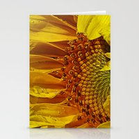 Inside the Sunflower Stationery Cards