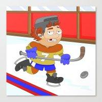 Winter Sports: Ice Hocke… Canvas Print