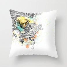 V.C.M. Throw Pillow