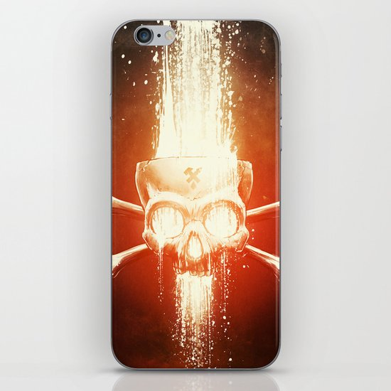 Black Smith iPhone & iPod Skin