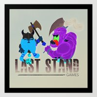 Last Stand Games Art Print