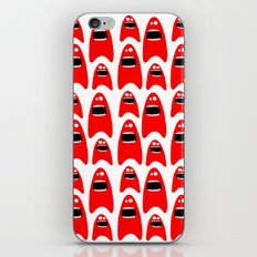 red monsters iPhone & iPod Skin