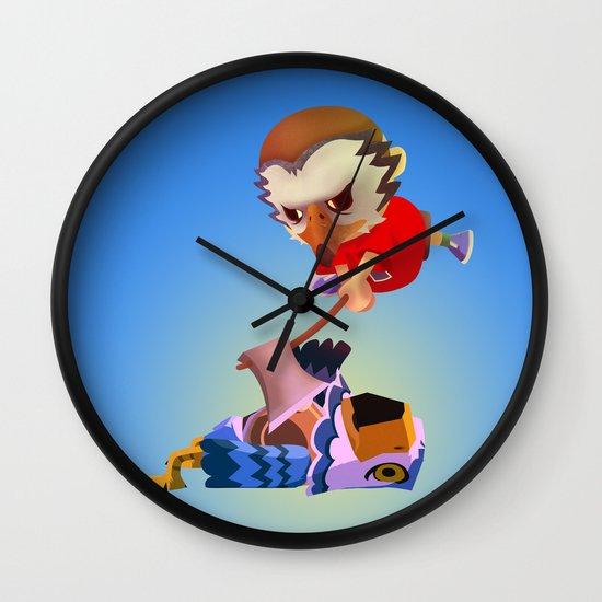 The Villager vs Pierce Wall Clock
