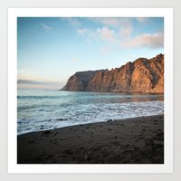 Cliffs of the Giants Art Print