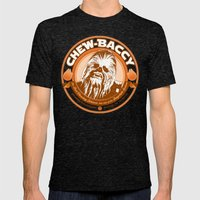 Chew-Baccy (Wookie Chewi… Mens Fitted Tee Tri-Black SMALL