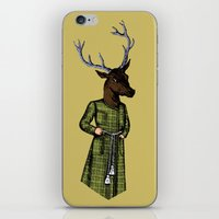 The Stately Stag iPhone & iPod Skin